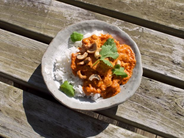 Vegan Jackfruit and Chickpea Curry